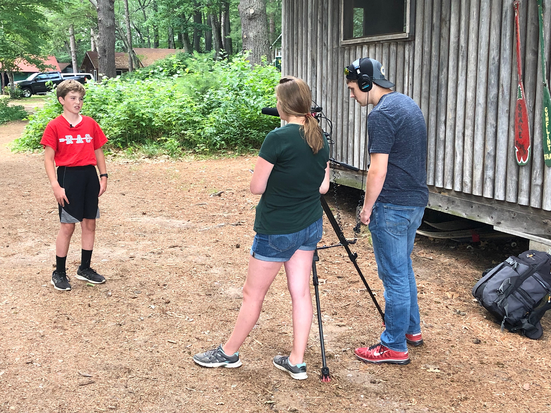 Red Arrow Camp Discover Wisconsin Interview